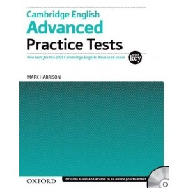 Cambridge English Advanced Practice Tests 2015 Format (with Key) + Audio CDs