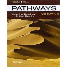 Pathways Listening, Speaking and Critical Thinking Foundations Student's Book + Online Workbook Access Code