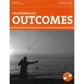 Outcomes Pre-Intermediate Wokbook with Key + Audio CD
