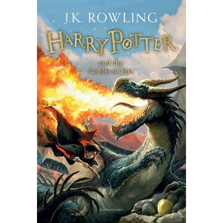 Harry Potter and the Goblet of Fire New Edition Bloomsbury 9781408855683