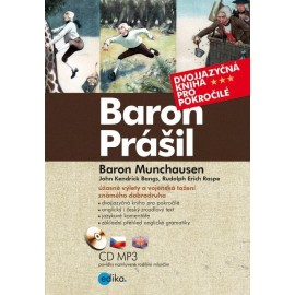 Baron Munchausen / Baron Prášil + MP3 Audio CD