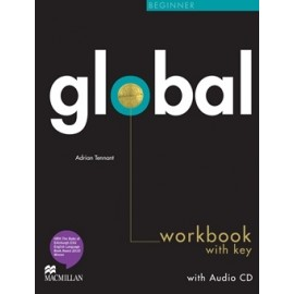 Global Beginner Workbook + CD Pack with Key