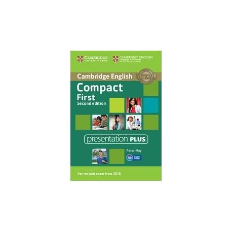 Compact First Second Edition Presentation Plus DVD-Rom Cambridge University Press 9781107428614
