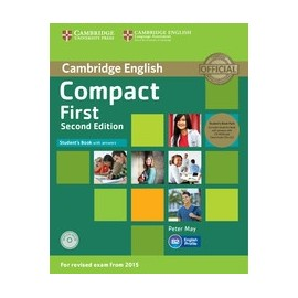 Compact First Second Edition Student's Book with Answers + CD-ROM