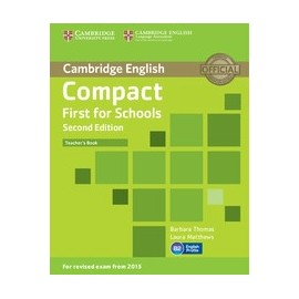 Compact First for Schools Second Edition Teacher's Book