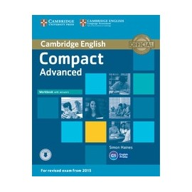Compact Advanced Workbook with Answers + CD