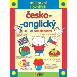 Můj první česko-anglický slovníček