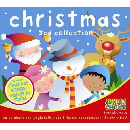 Junior Choice Christmas 3 CD Collection CYP Limited 9781847335357