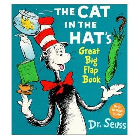 The Cat in the Hat's Great Big Flap Book Random House 9780679893608