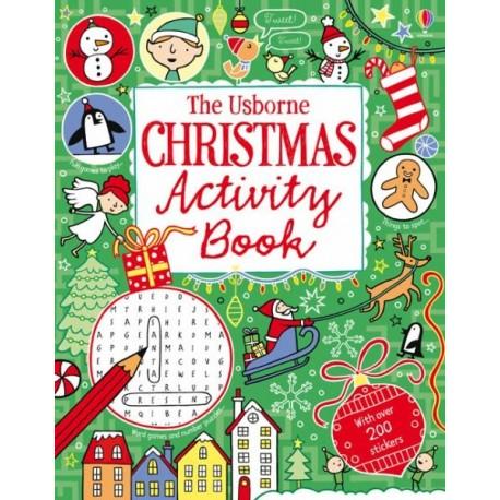 The Usborne Christmas Activity Book Usborne Publishing 9781409539711