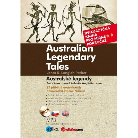 Australian Legendary Tales / Australské legendy + MP3 Audio CD Edika 9788026605850