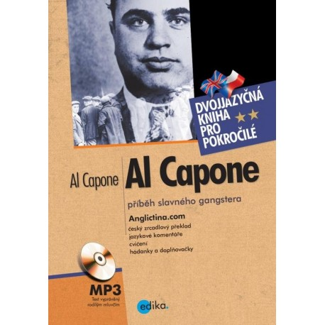 Al Capone + MP3 Audio CD Edika 9788026605638