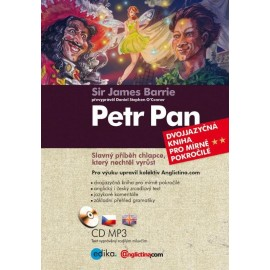 Peter Pan / Petr Pan + MP3 Audio CD
