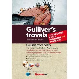 Gulliver's Travels / Gulliverovy cesty + MP3 Audio CD