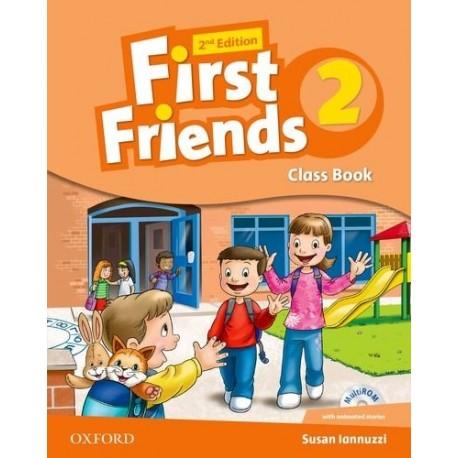 First Friends 2 Second Edition Class Book + MultiROM Oxford University Press 9780194432474