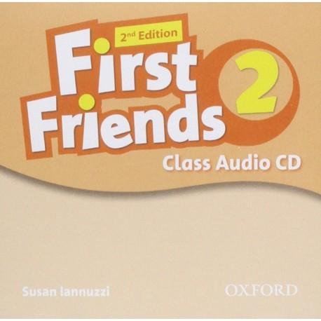First Friends 2 Second Edition Class Audio CD Oxford University Press 9780194432535