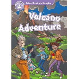 Oxford Read and Imagine Level 4: Volcano Adventure + Audio CD