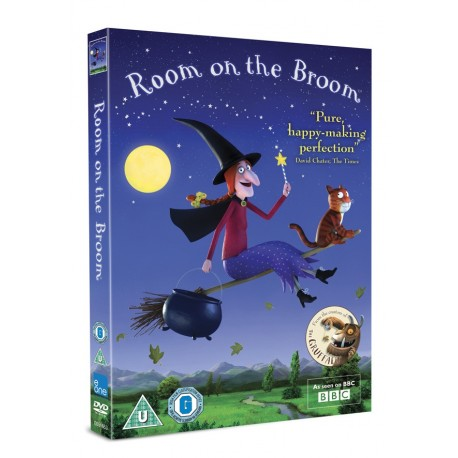 Room on the Broom DVD BBC 5030305516536
