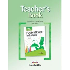 Career Paths: Food Service Industries Teacher's Book + Student's Book + Cross-platform Application with Audio CD
