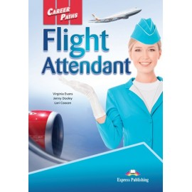 Career Paths: Flight Attendant Students Book wth Digibook App.