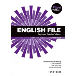 English File Third Edition Beginner Teacher's Book + CD-ROM