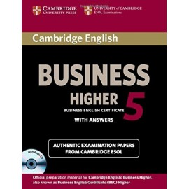 Cambridge English Business 5 Higher Student's Book with Answers + CD