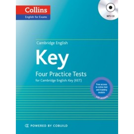 Collins English for Exams: Four Practice Tests for Cambridge English Key + MP3 CD