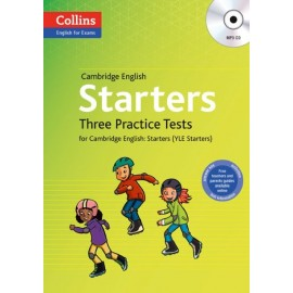 Collins English for Exams: Three Practice Tests for Cambridge English Starters + MP3 CD