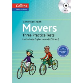 Collins English for Exams: Three Practice Tests for Cambridge English Movers + MP3 CD