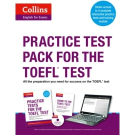 Collins English for Exams: Practice Test Pack for the TOEFL Test + MP3 CD
