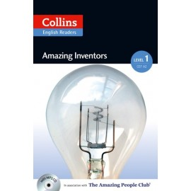 Collins English Readers: Amazing Inventors + MP3 Audio CD