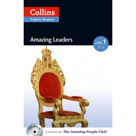 Collins English Readers: Amazing Leaders (A2) + MP3 Audio CD