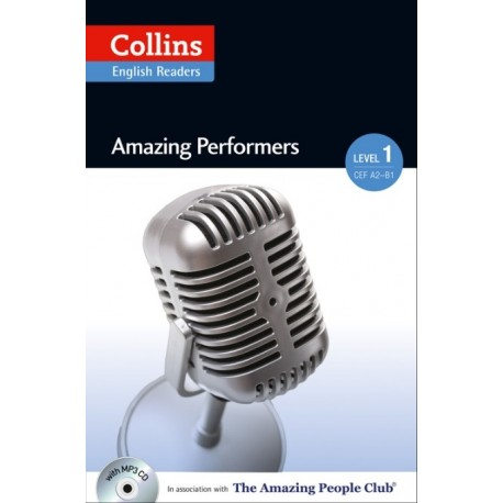 Collins English Readers: Amazing Performers (A2) + MP3 Audio CD Collins 9780007545087