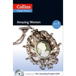 Collins English Readers: Amazing Women + MP3 Audio CD