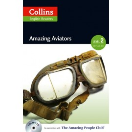 Collins English Readers: Amazing Aviators + MP3 Audio CD