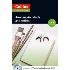 Collins English Readers: Amazing Architects & Artists + MP3 Audio CD