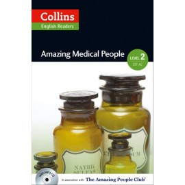 Collins English Readers: Amazing Medical People + MP3 Audio CD