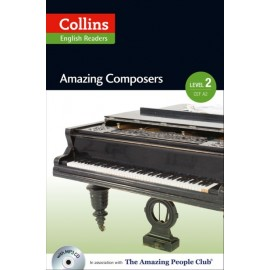 Collins English Readers: Amazing Composers + MP3 Audio CD