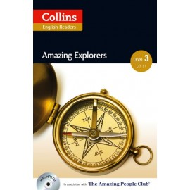 Collins English Readers: Amazing Explorers + MP3 Audio CD