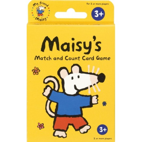 Maisy's Match and Count Card Game Paul Lamond Games 5012822012203