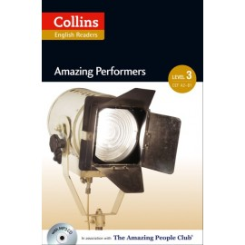 Collins English Readers: Amazing Performers (B1) + MP3 Audio CD