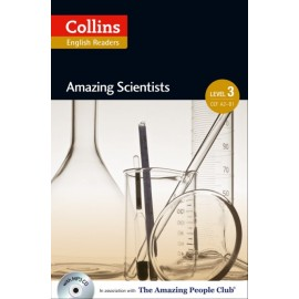 Collins English Readers: Amazing Scientists (B1) + MP3 Audio CD