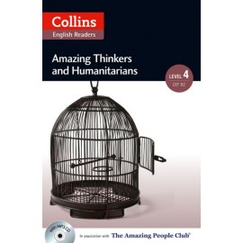 Collins English Readers: Amazing Thinkers & Humanitarians + MP3 Audio CD