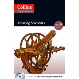 Collins English Readers: Amazing Scientists (B2) + MP3 Audio CD