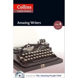 Collins English Readers: Amazing Writers (B2) + MP3 Audio CD