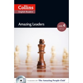 Collins English Readers: Amazing Leaders (B2) + MP3 Audio CD