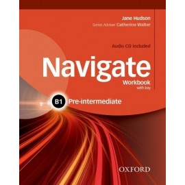 Navigate Pre-Intermediate Workbook with Key + Audio CD