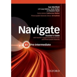 Navigate Pre-Intermediate Teacher's Book + Teacher's Resource CD-ROM