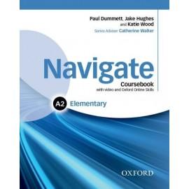 Navigate Elementary Coursebook + DVD-ROM + Oxford Online Skills Practice