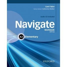 Navigate Elementary Workbook with Key + Audio CD